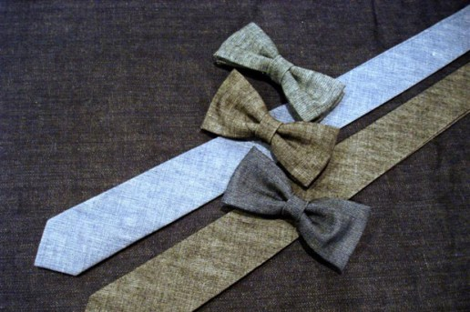 Naked & Famous Denim Bow Ties and Ties