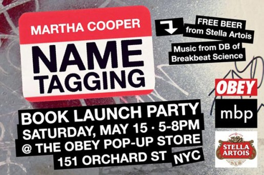 Name Tagging by Martha Cooper Book Launch Party