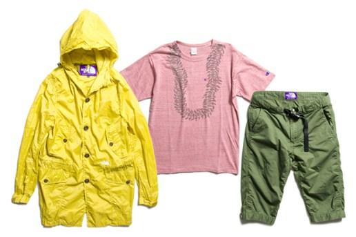 nanamica New Releases with Champion & The North Face