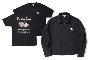 """NEIGHBORHOOD x A Bathing Ape """"BrotherHood"""" Collection"""