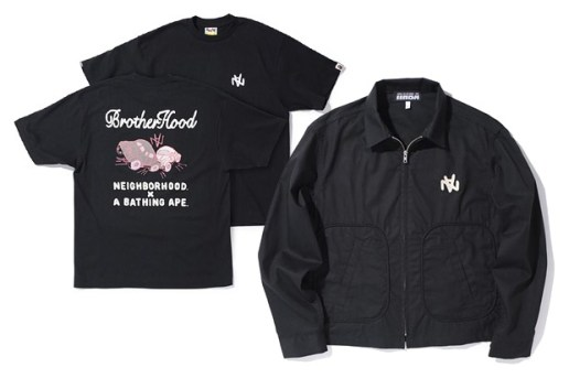 "NEIGHBORHOOD x A Bathing Ape ""BrotherHood"" Collection"