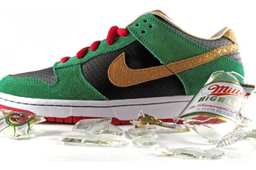 "Nike SB Dunk Low ""Miller High Life"""
