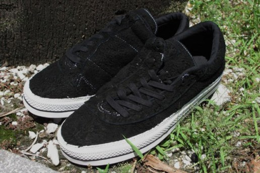 Number (N)ine for Converse Black Asymmetrical One Star