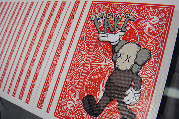 OriginalFake x Bicycle 4th Anniversary Playing Cards