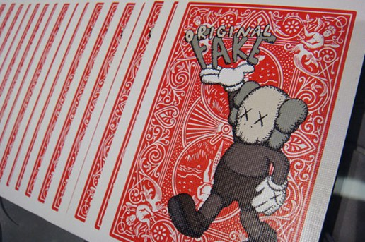 OriginalFake x Bicycle 4th Anniversary Playing Cards
