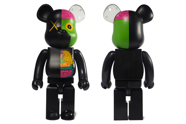 OriginalFake x Medicom Toy Dissected Companion Bearbrick Black - A Closer Look