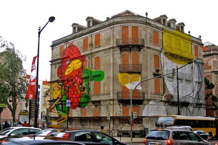 Os Gemeos in Lisbon