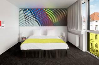 Pantone Hotel Opening in Brussels