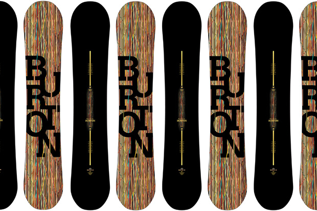 Paul Smith x Burton Vapor Snowboard