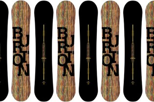 Paul Smith x Burton Vapor Snowboard