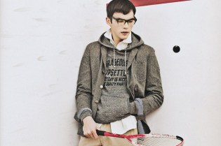 "POPEYE 2010 Spring/Summer ""Parka and Glasses"" Editorial"