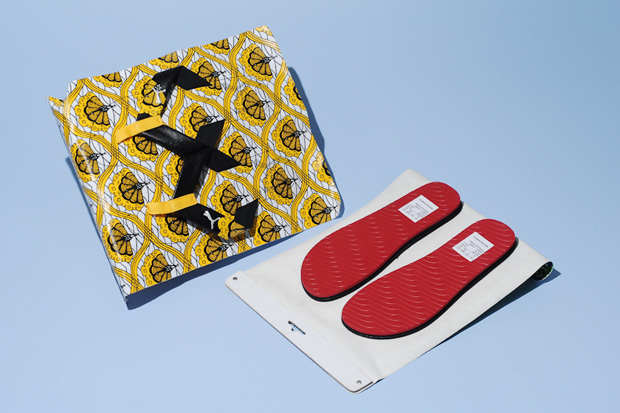 PUMA x Kehinde Wiley Do-It-YourSelf Sacko & Matar Slippers