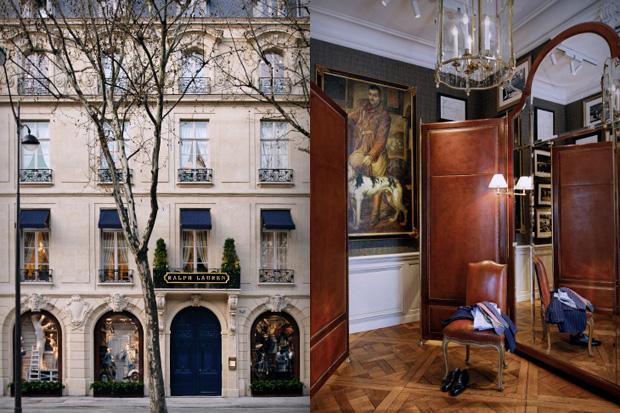 Ralph Lauren Paris Store