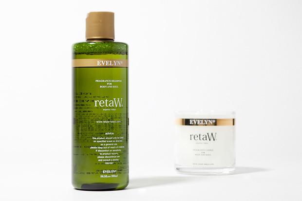 retaW Evelyn Candle and Body Shampoo