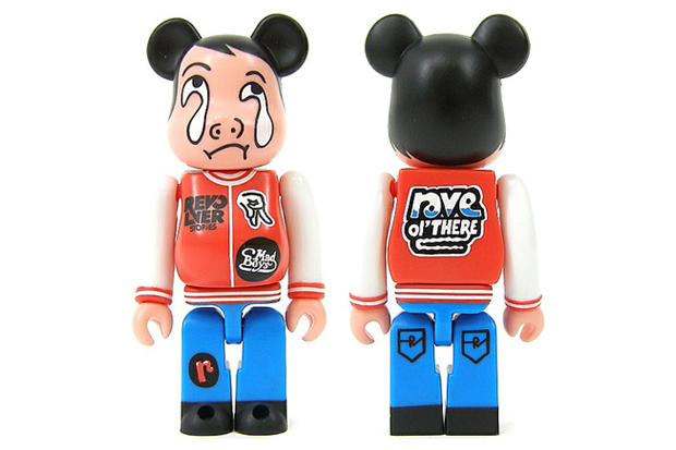 REVOLVER x SO-ME x MEDICOM TOY BEARBRICK 100% EPROZE Exclusive