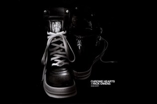 Chrome Hearts x Rick Owens Sneaker Preview