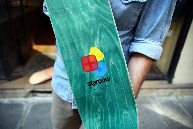 Sebastien Preschoux x Starcow Skatedecks
