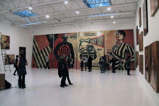 "Shepard Fairey ""May Day"" Exhibition Recap"