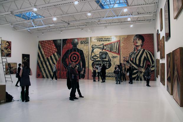"""Shepard Fairey """"May Day"""" Exhibition Recap"""