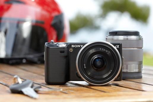 Sony NEX-5 & NEX-3 Digital Cameras