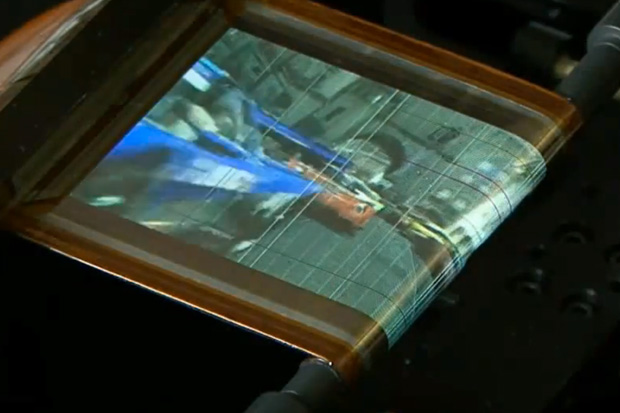 Sony Rollable OLED Screen