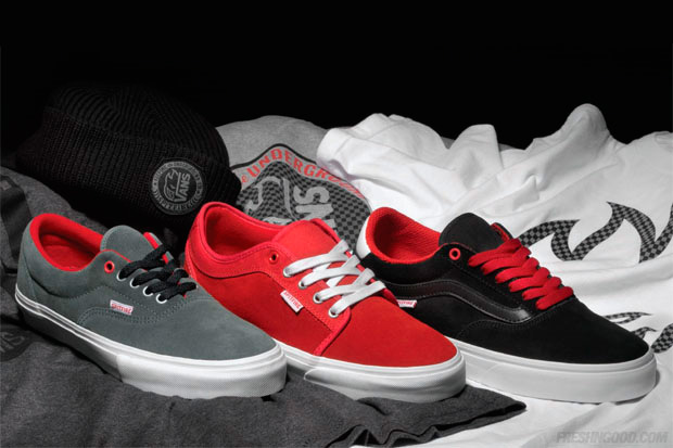 """Spitfire x Vans 2010 Fall """"Keeping the Underground Lit"""" Collection"""
