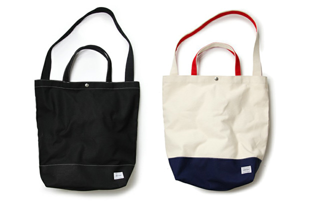 Standard California x Porter Canvas Tote Bags