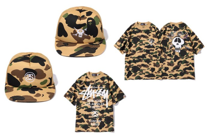 Stussy x BAPE Collection Summer 2010