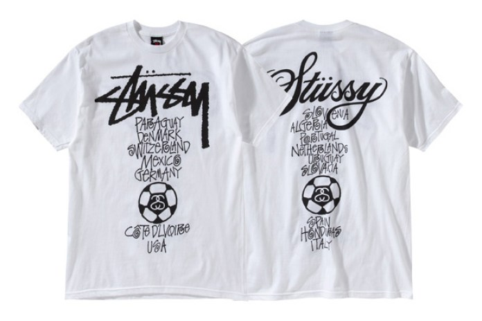 Stussy 2010 World Cup Tees