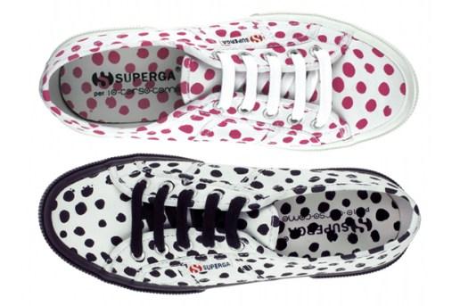 Superga x 10 Corso Como Polka Dot Sneakers