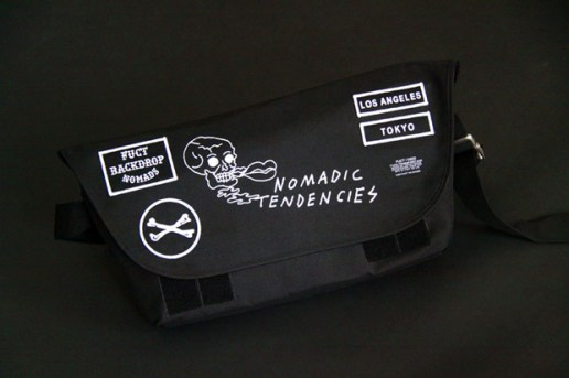 "The Backdrop x FUCT SSDD ""Nomadic Tendencies"" Bike Bag"