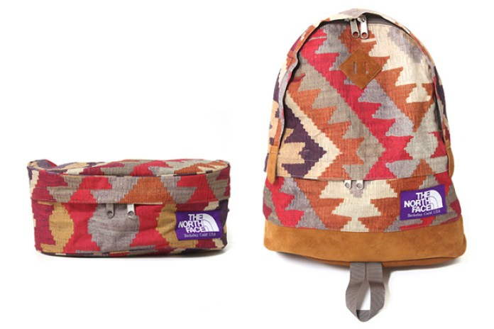 "The North Face Purple Label ""Old Kilim"" Collection"