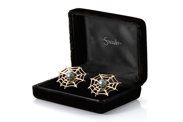 Tomoki Sukezane for Openers x Tasaki Spider Cuff Links