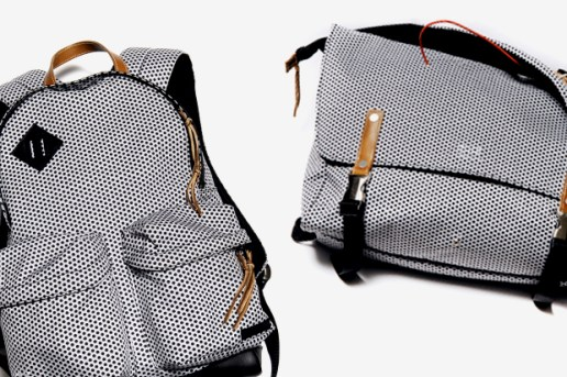 "UNDERCOVER ""Less but better"" Polka Dot Backpack & Messenger Bag"