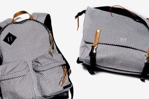 """UNDERCOVER """"Less but better"""" Polka Dot Backpack & Messenger Bag"""