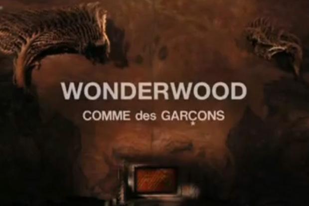 """COMME des GARCONS """"Wonderwood"""" Short Film"""