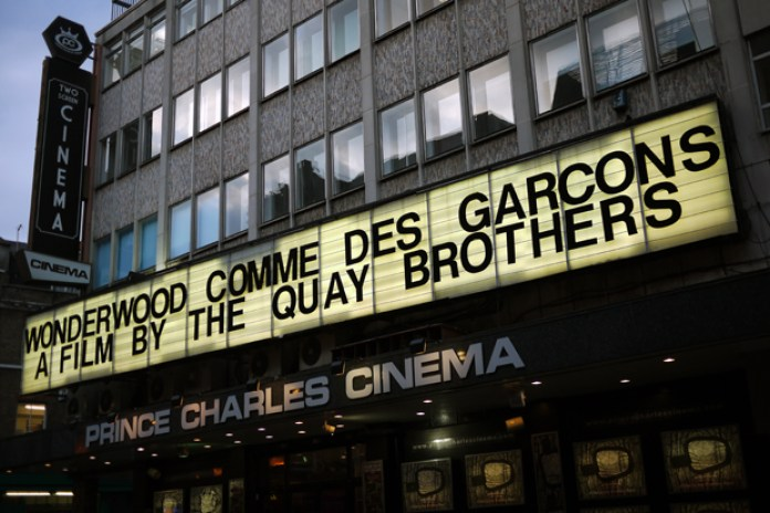 WONDERWOOD COMME des GARCONS A Film by The Quay Brothers