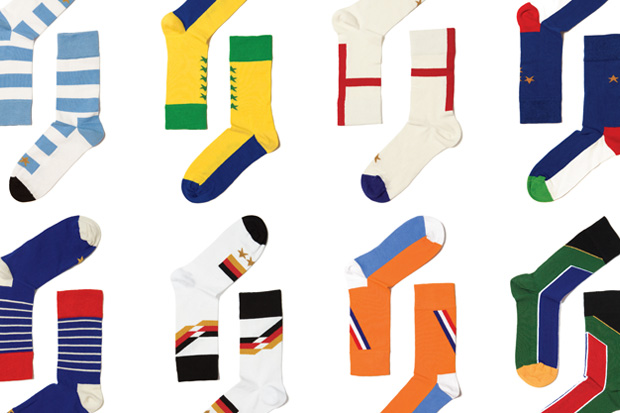 "Wong Wong x Happy Socks ""World Cup 2010"" Collection"
