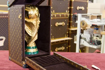 2010 FIFA World Cup Trophy Case by Louis Vuitton