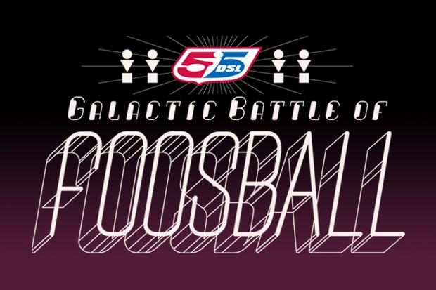 55DSL & PANINI Presents: The Galactic Battle of Foosball