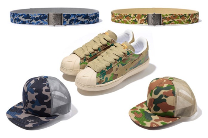 A BATHING APE Puzzle Camo Collection