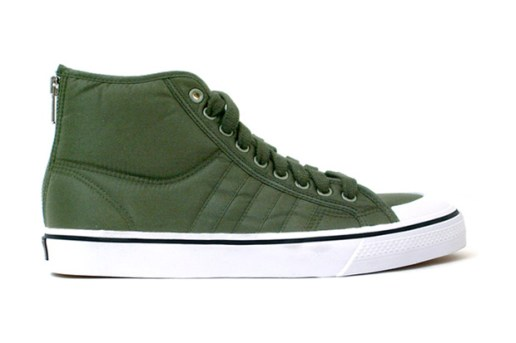 "Porter x adidas Originals Nizza High ""Green Tanker"""