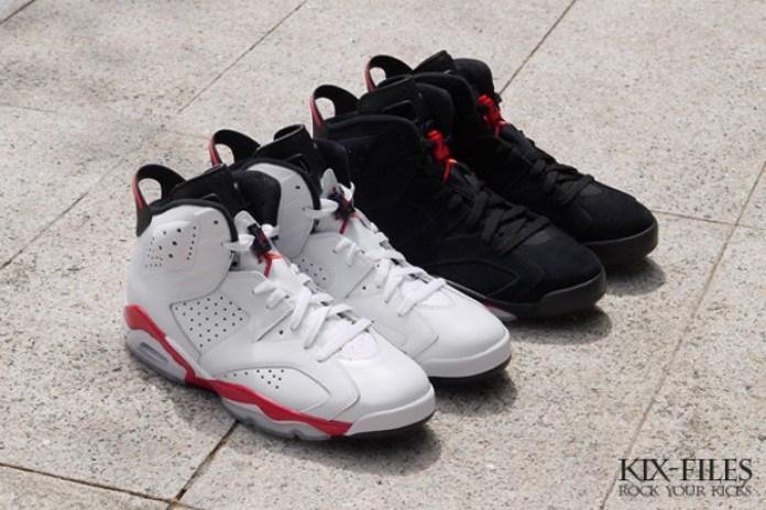 """Air Jordan 6 """"Infrared"""" Retro Pack"""