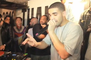 Alife Sessions: Drake at the ARC Umbro World Champions Courtyard