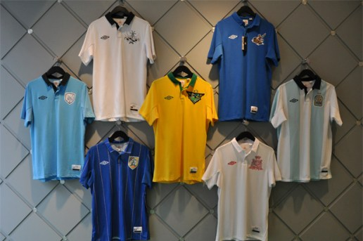 Umbro 'World Champions' Collection @ Alife Rivington Club