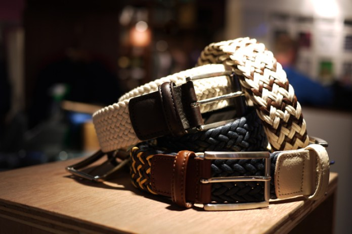 Anderson's 2010 Spring/Summer Belts