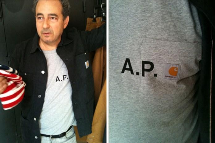 A.P.C. x Carhartt Preview