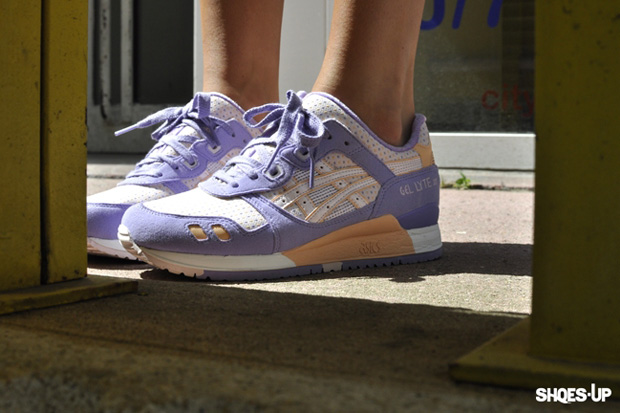 Asics Gel Lyte III Lavender/Pink/Orange