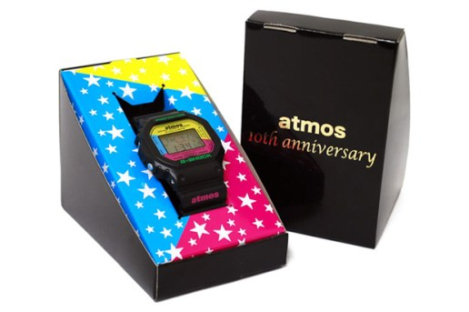 Casio x atmos 10th Anniversary G-SHOCK