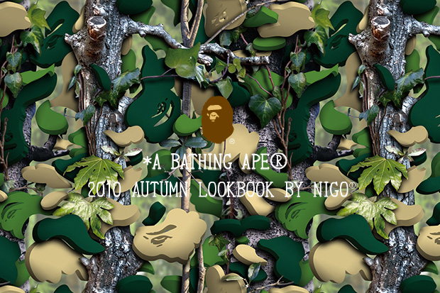 A BATHING APE 2010 Fall Lookbook featuring NIGO
